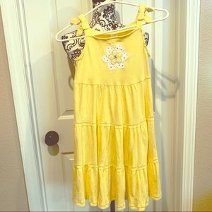 Gymboree Yellow Dress with a Yellow Daisy